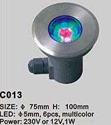 POOL LED LIGHT KARNAR INTERNATIONAL GROUP LTD