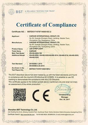 Produkto sertifikatas,FCC sertifikatas,Product-List 4, 18062110, KARNAR INTERNATIONAL GROUP LTD